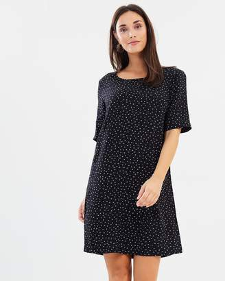 Only Woven Tee Dress