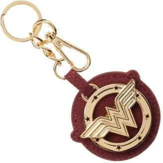Bioworld Wonder Woman Metal/Canvas Keychain