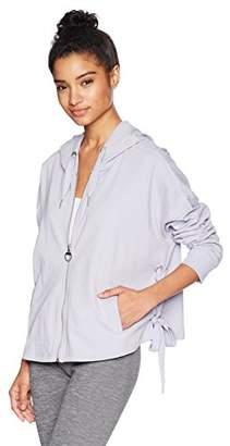 Calvin Klein Women's Side Tie Zip Hoodie
