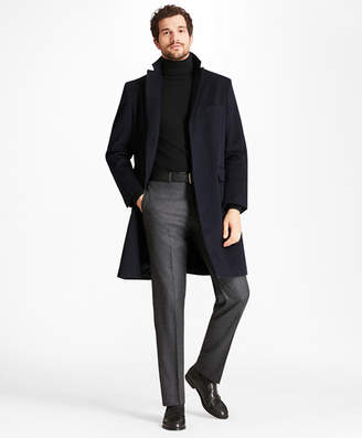 Brooks Brothers Golden Fleece BrooksStorm Westbury Cashmere Overcoat