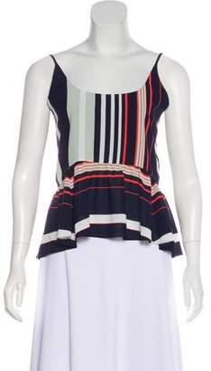 Rebecca Minkoff Striped Sleeveless Top w/ Tags