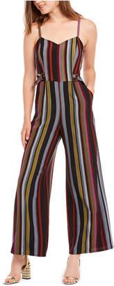 BeBop Juniors' Striped Jumpsuit