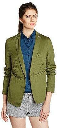 G-Star Raw Women's Bronson Deconstructed Bf Blazer in Vico $113.63 thestylecure.com