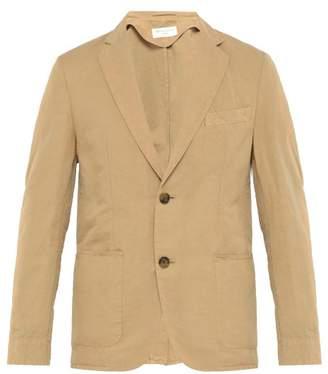 Officine Generale Cotton Blend Blazer - Mens - Tan