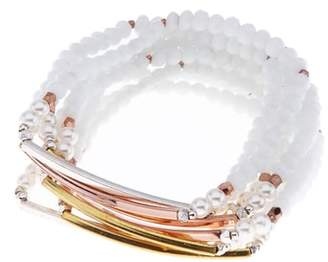 Nakamol Design Barrett Beaded Stretch Bracelet