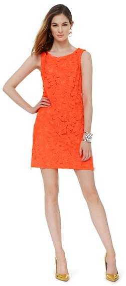 Juicy Couture Guipure Lace Zippered Dress