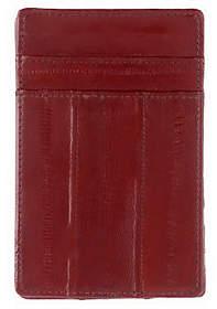 Lee Sands Men's Eelskin Credit Card Holder