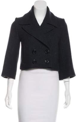 Opening Ceremony Double-Breasted Wool Jacket