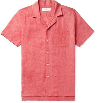 Orlebar Brown + 007 Thunderball Camp-Collar Linen Shirt