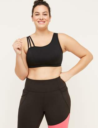 Lane Bryant Wicking Low Impact Sport Bra - Strappy Shoulder