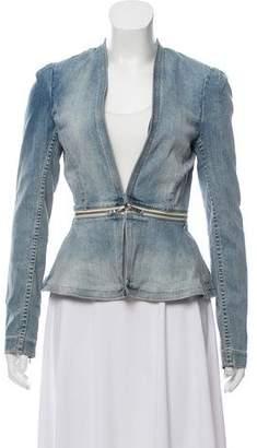 Rebecca Taylor Light Wash Denim Jacket