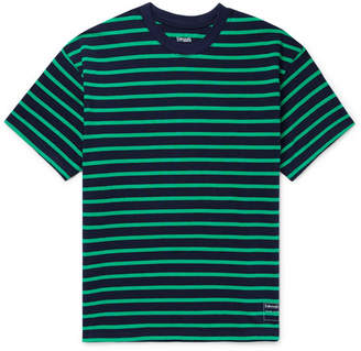 Entireworld Striped Organic Cotton T-Shirt