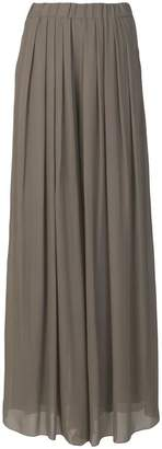 Pierantonio Gaspari Pierantoniogaspari wide leg pleat trousers