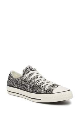 Converse Black Tweed All Star Oxford Sneaker (Women)