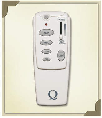 Quorum Hand Held Fan Remote Control in White