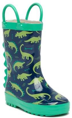 LILLY OF NEW YORK Dinosaur Rainboot (Toddler)