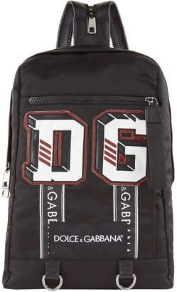 Dolce & Gabbana Logo Applique Backpack