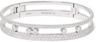 Möve Messika Romane 18-karat White Gold Diamond Bangle