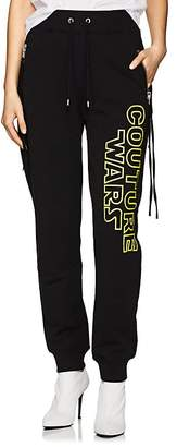 """Moschino Women's """"Couture Wars"""" Cotton Jogger Pants"""