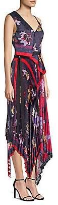 Yigal Azrouël Azrouël Women's Pleated Handkerchief Dress
