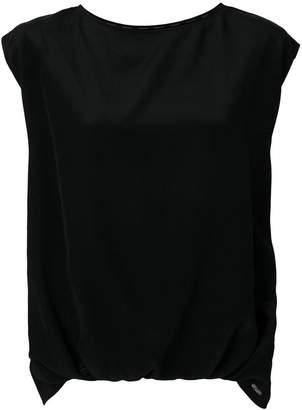 Woolrich cap sleeve blouse