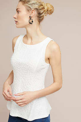 Anthropologie Seamed + Textured Tank