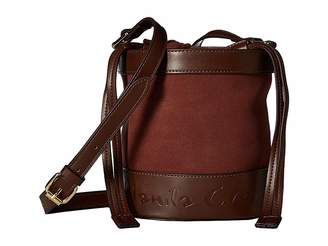 Manila Grace Secchiello Clica Crossbody Bucket Bag