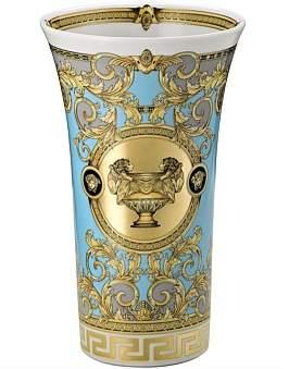 Versace Prestige Gala Bleu Vase 26Cm