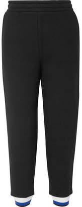 Alexander Wang Cotton-blend Fleece Track Pants - Black
