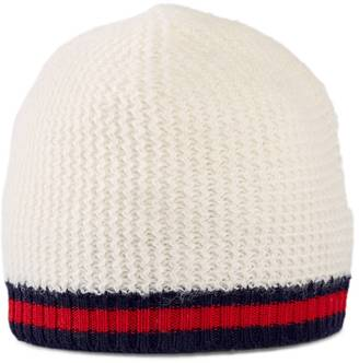 Baby cashmere wool hat with Web $125 thestylecure.com