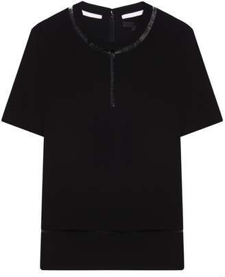 Alexander Wang Fishline Short Sleeve T-shirt