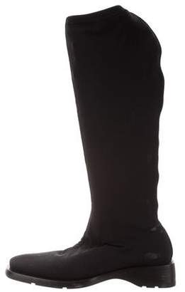 Gucci Square-Toe Knee-Length Boots