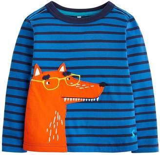 Joules Toddler Boys Jack Stripe Fox T-shirt