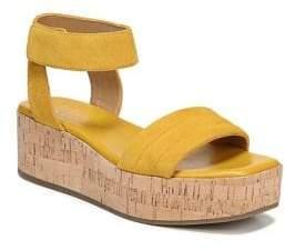 Franco Sarto Ioli Suede Platform Sandals