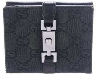 834cf68b6ff Gucci Wallet Gg Logo - ShopStyle