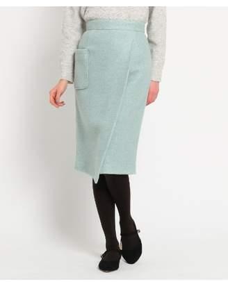 aquagirl (アクアガール) - エージー バイ アクアガール [Lサイズあり]ループヤーンタイトスカート