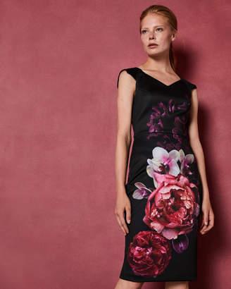 Ted Baker SEMANJ Splendour print bodycon dress