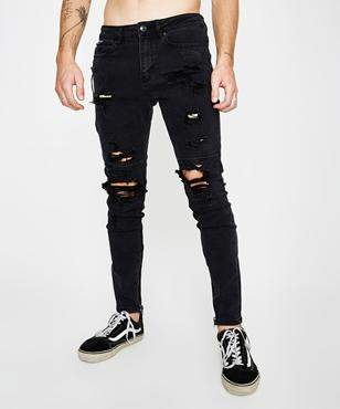 Standard Fully Lit Base Black Pant