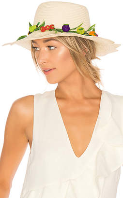 Mercedes Salazar Tutti Frutti Straw Hat
