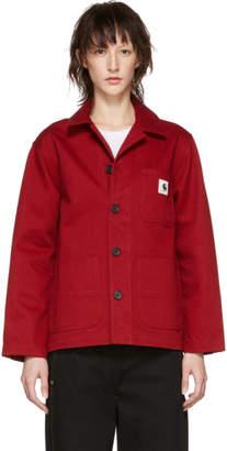 Carhartt Work In Progress Red Menson Jacket