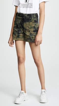 Proenza Schouler PSWL Tie Dye Slouchy Shorts