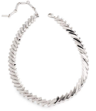 Eddie Borgo Flash Bar Choker Necklace