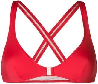 Solid & Striped criss-cross back bikini top