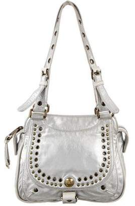 Marc Jacobs Grommet-Accented Leather Bag