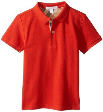 Burberry Kids - Mini PPM Polo Boy's Short Sleeve Knit $70 thestylecure.com