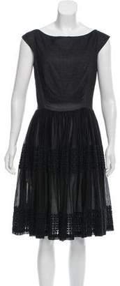 Martin Grant Knee-Length Sleeveless Dress