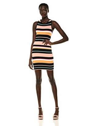 Ella Moss Women's Alexis Stripe Ribbed Dress
