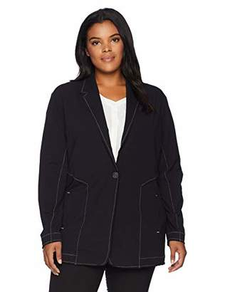 Nic+Zoe Women's Size Plus Perfect Seamed Riding Jacket