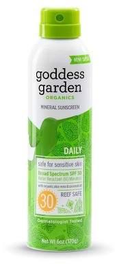Goddess Garden Mineral Sunscreen Spray - SPF 30 - 3.4oz