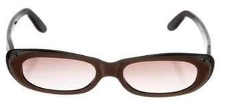 Chloé Narrow Gradient Sunglasses